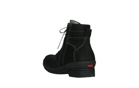wolky lace up boots 07645 latky 13000 black nubuckleather_17