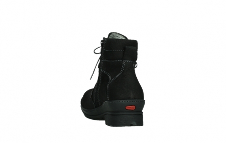 wolky lace up boots 07645 latky 13000 black nubuckleather_18