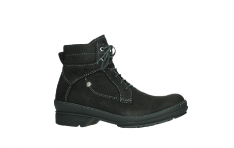 wolky lace up boots 07645 latky 13000 black nubuckleather_2