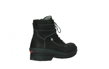 wolky lace up boots 07645 latky 13000 black nubuckleather_22
