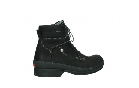 wolky lace up boots 07645 latky 13000 black nubuckleather_23