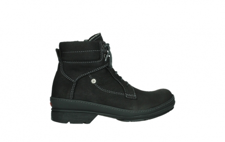 wolky lace up boots 07645 latky 13000 black nubuckleather_24