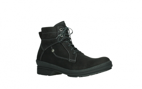 wolky lace up boots 07645 latky 13000 black nubuckleather_3