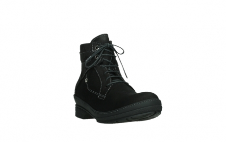 wolky lace up boots 07645 latky 13000 black nubuckleather_5