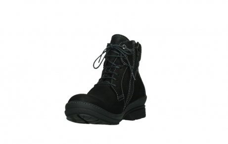 wolky lace up boots 07645 latky 13000 black nubuckleather_9
