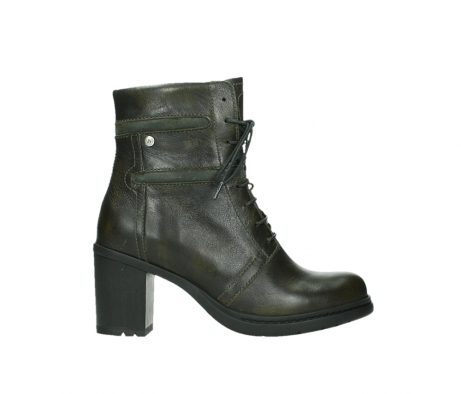 wolky ankle boots 08064 shalkar 27775 military green effect leather_1