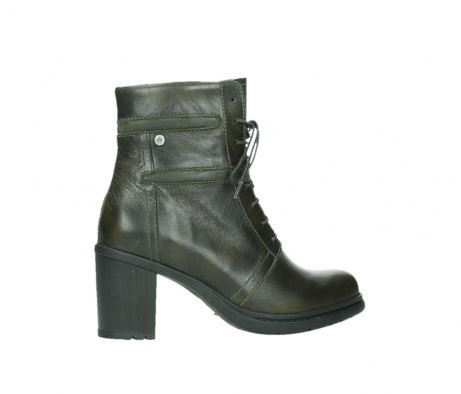 wolky ankle boots 08064 shalkar 27775 military green effect leather_24