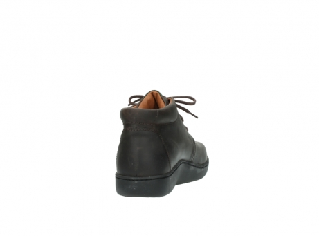 wolky lace up boots 08100 kansas 50300 brown leather_8