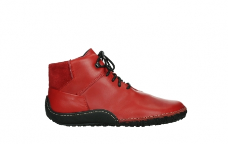 wolky lace up boots 08361 mokola 50500 red leather_1