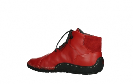 wolky lace up boots 08361 mokola 50500 red leather_15