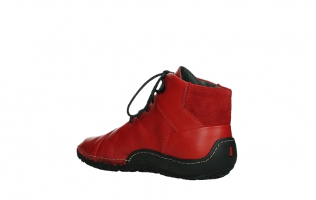 wolky lace up boots 08361 mokola 50500 red leather_16