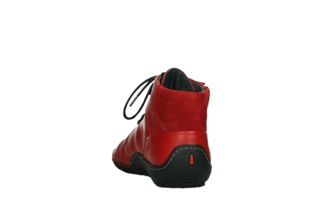 wolky lace up boots 08361 mokola 50500 red leather_18