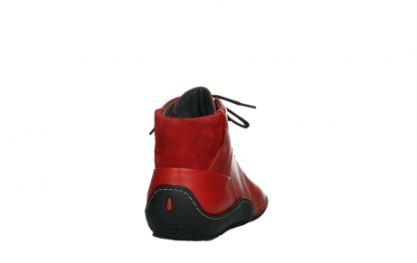 wolky lace up boots 08361 mokola 50500 red leather_20