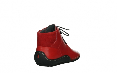 wolky lace up boots 08361 mokola 50500 red leather_21