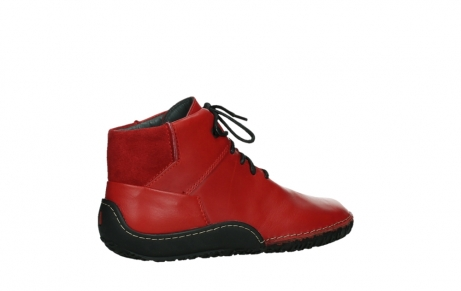 wolky lace up boots 08361 mokola 50500 red leather_23