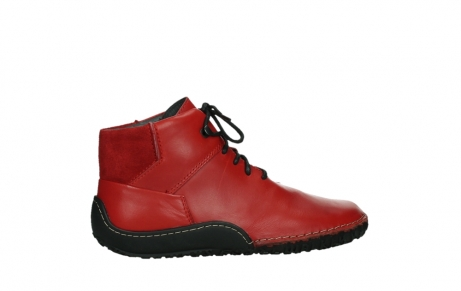 wolky lace up boots 08361 mokola 50500 red leather_24