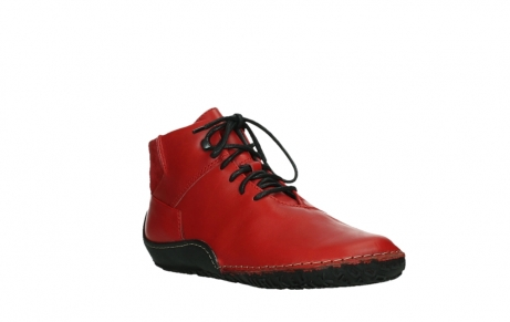 wolky lace up boots 08361 mokola 50500 red leather_4