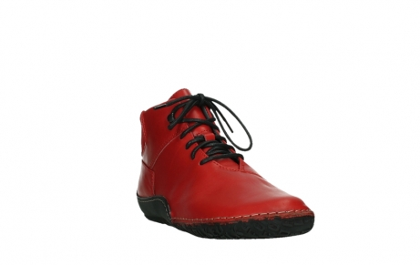 wolky lace up boots 08361 mokola 50500 red leather_5