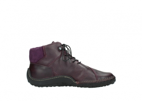 wolky lace up boots 08361 mokola 50600 dark purple black oiled leather_13