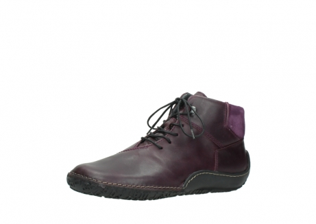wolky lace up boots 08361 mokola 50600 dark purple black oiled leather_23