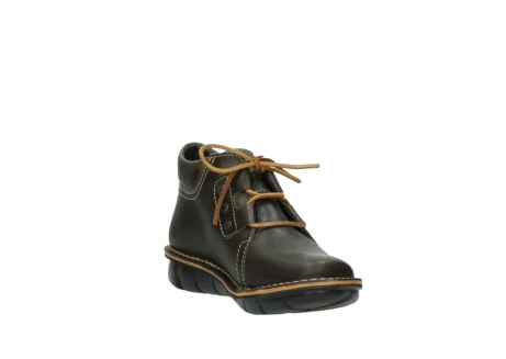 wolky lace up boots 08395 tara 50733 forest green leather_17