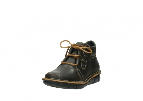 wolky lace up boots 08395 tara 50733 forest green leather_21