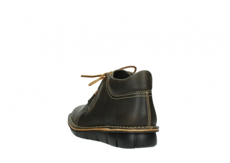 wolky lace up boots 08395 tara 50733 forest green leather_5