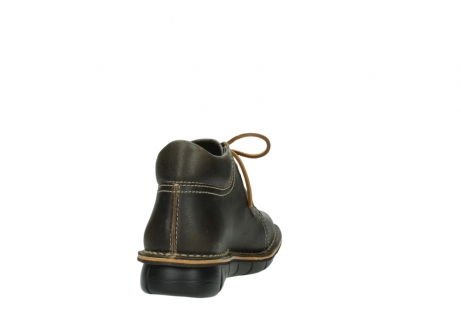 wolky lace up boots 08395 tara 50733 forest green leather_8
