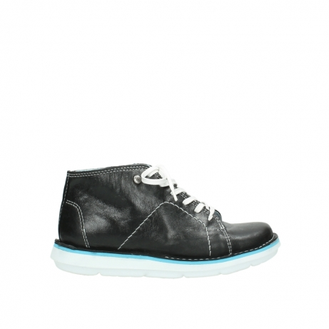 wolky lace up boots 08477 basalt 30070 black summer leather