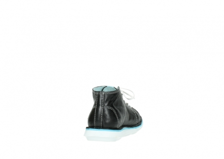 wolky lace up boots 08477 basalt 30070 black summer leather_8