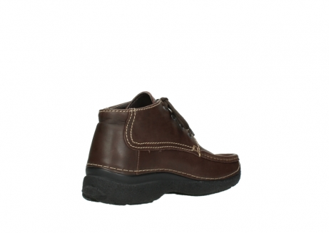 wolky lace up shoes 09203 roll moc basic 50300 brown leather_10