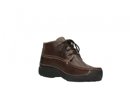 wolky lace up shoes 09203 roll moc basic 50300 brown leather_16