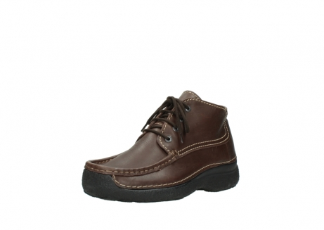wolky lace up shoes 09203 roll moc basic 50300 brown leather_22