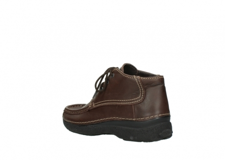 wolky lace up shoes 09203 roll moc basic 50300 brown leather_4