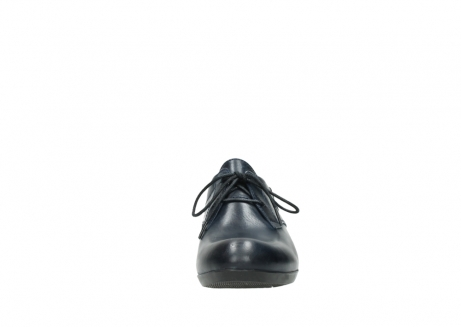wolky lace up shoes 00958 yuba 30800 blue leather_19