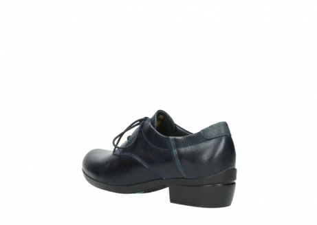 wolky lace up shoes 00958 yuba 30800 blue leather_4