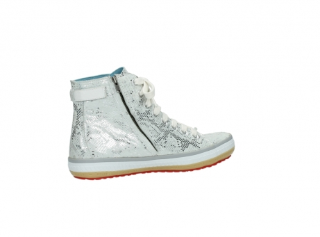 wolky lace up shoes 01225 biker 90130 silver metallic leather_11