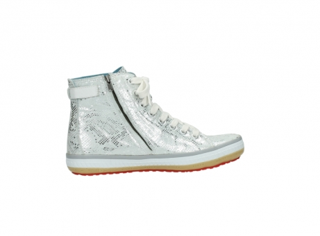wolky lace up shoes 01225 biker 90130 silver metallic leather_12