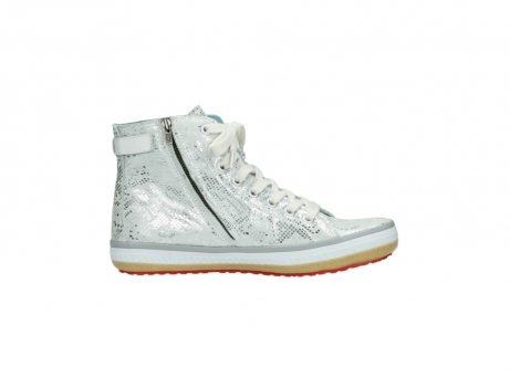wolky lace up shoes 01225 biker 90130 silver metallic leather_13
