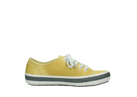 wolky lace up shoes 01227 giro 30920 light yellow leather_13