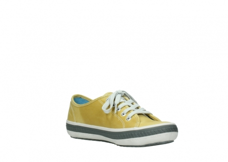 wolky lace up shoes 01227 giro 30920 light yellow leather_16