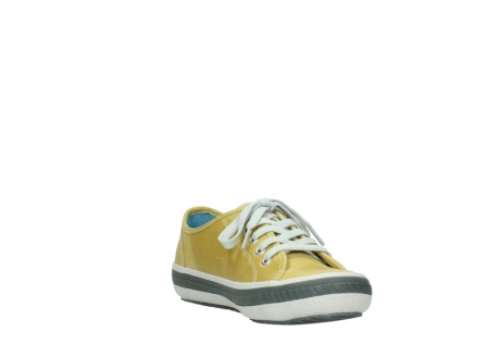 wolky lace up shoes 01227 giro 30920 light yellow leather_17