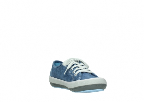 wolky lace up shoes 01227 giro 70800 blue leather_17