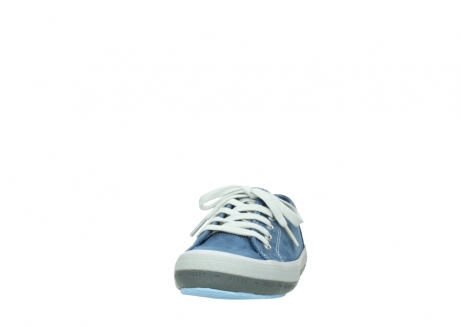 wolky lace up shoes 01227 giro 70800 blue leather_20