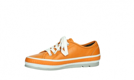 wolky lace up shoes 01230 linda 30550 orange leather_12