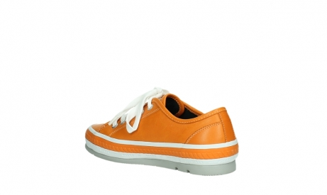 wolky lace up shoes 01230 linda 30550 orange leather_16