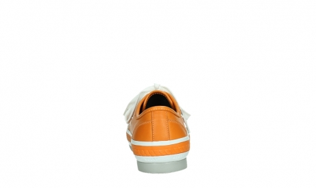wolky lace up shoes 01230 linda 30550 orange leather_19