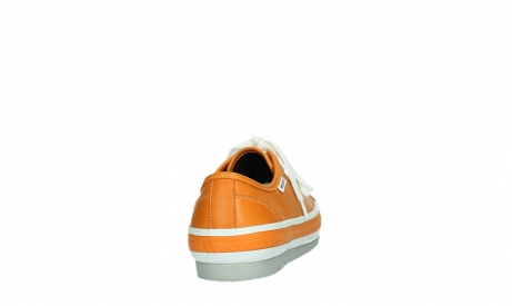 wolky lace up shoes 01230 linda 30550 orange leather_20