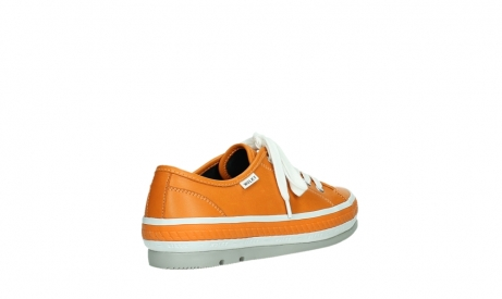 wolky lace up shoes 01230 linda 30550 orange leather_22