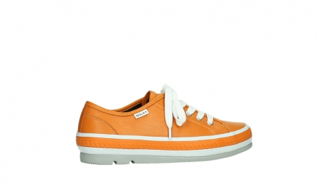 wolky lace up shoes 01230 linda 30550 orange leather_24